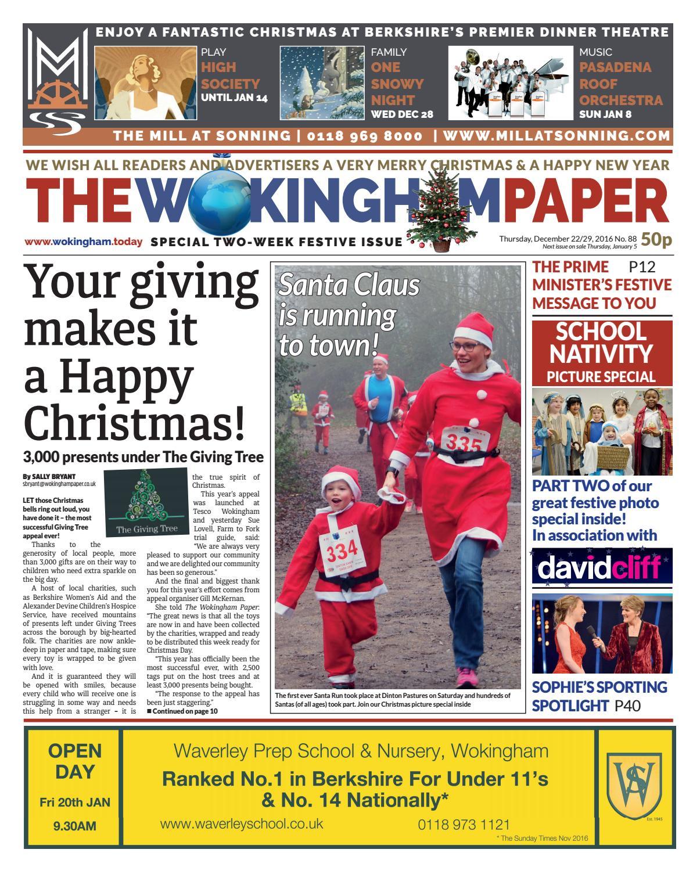 The Wokingham Paper December 22 29 2016 By The Wokingham Paper Issuu