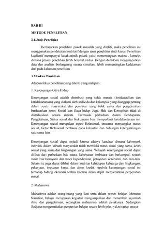 Bab 3 Metode Penelitian Kualitatif