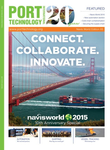 Port technology navis world edition 65 by henley media group issuu page 1 malvernweather Image collections