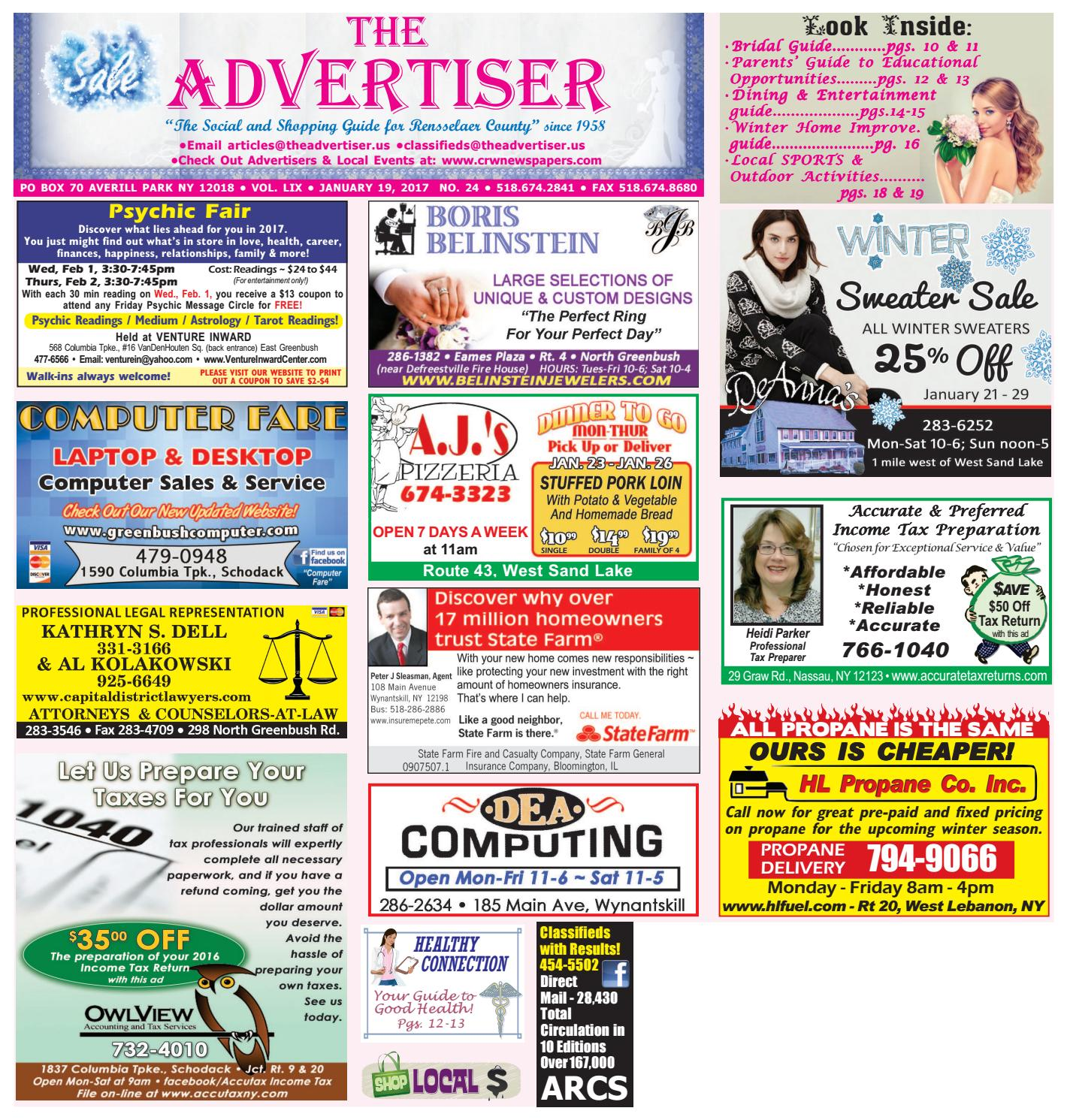 Advertiser South 011917