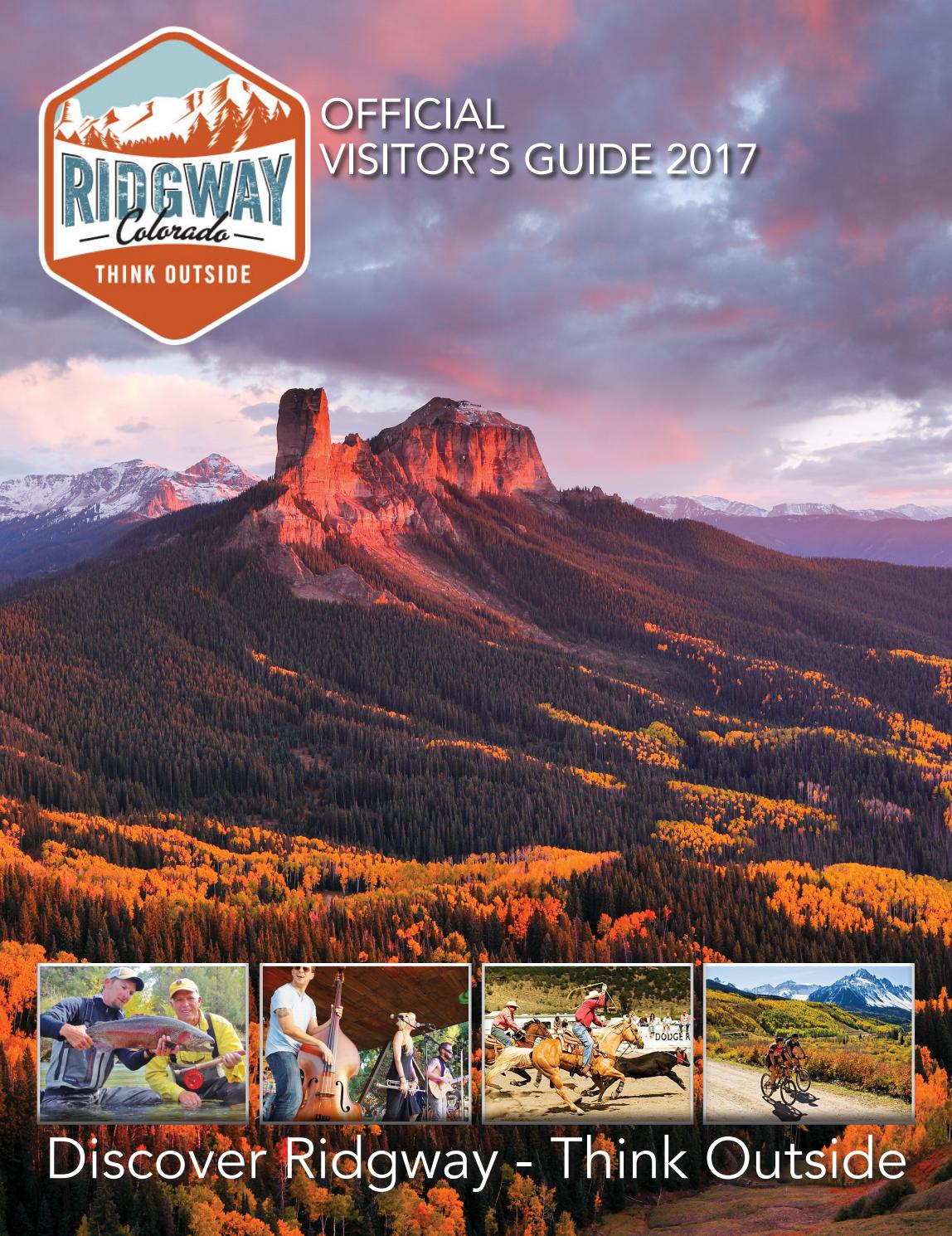 Ridgway  Official Visitors Guide 2017 By Ballantinemunications  Issuu