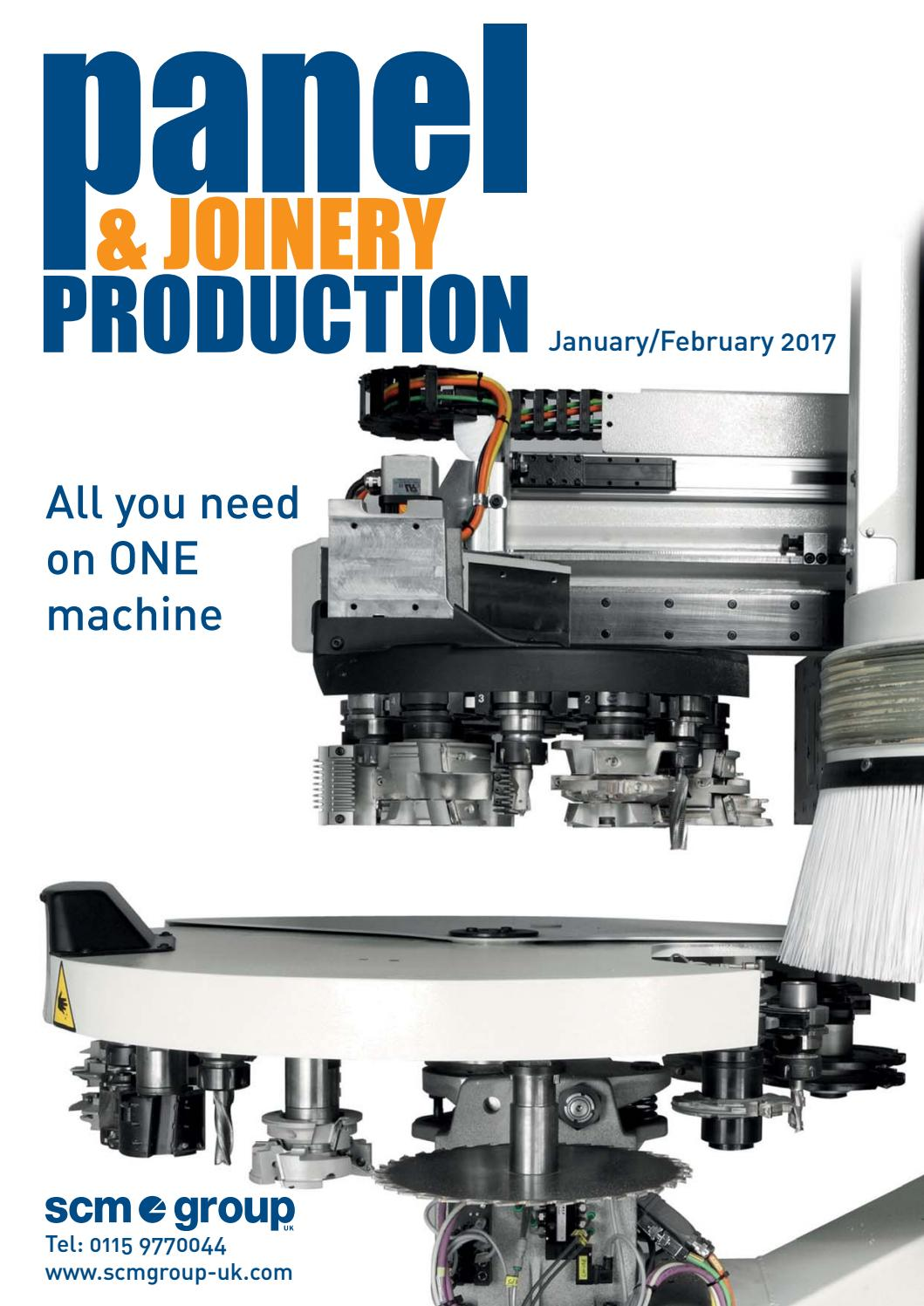 Panel & Joinery Production - January/February 2017 by First