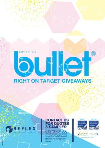 1cee0a51279 Reflex 2017 Bullet Catalogue by Reflex Marketing - issuu