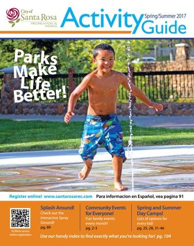 219818ff3567d Spring Summer 2017 Activity Guide by City of Santa Rosa Recreation ...