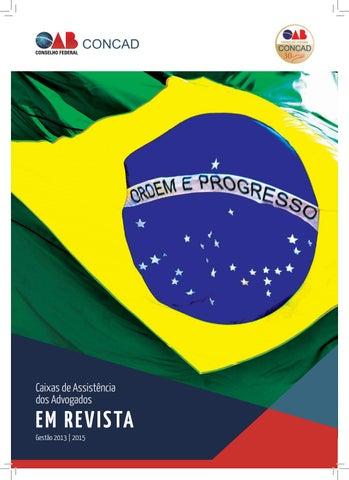 Revista da Caixa de Assistência dos Advogados   CONCAD by Renato ... ec03bb4291