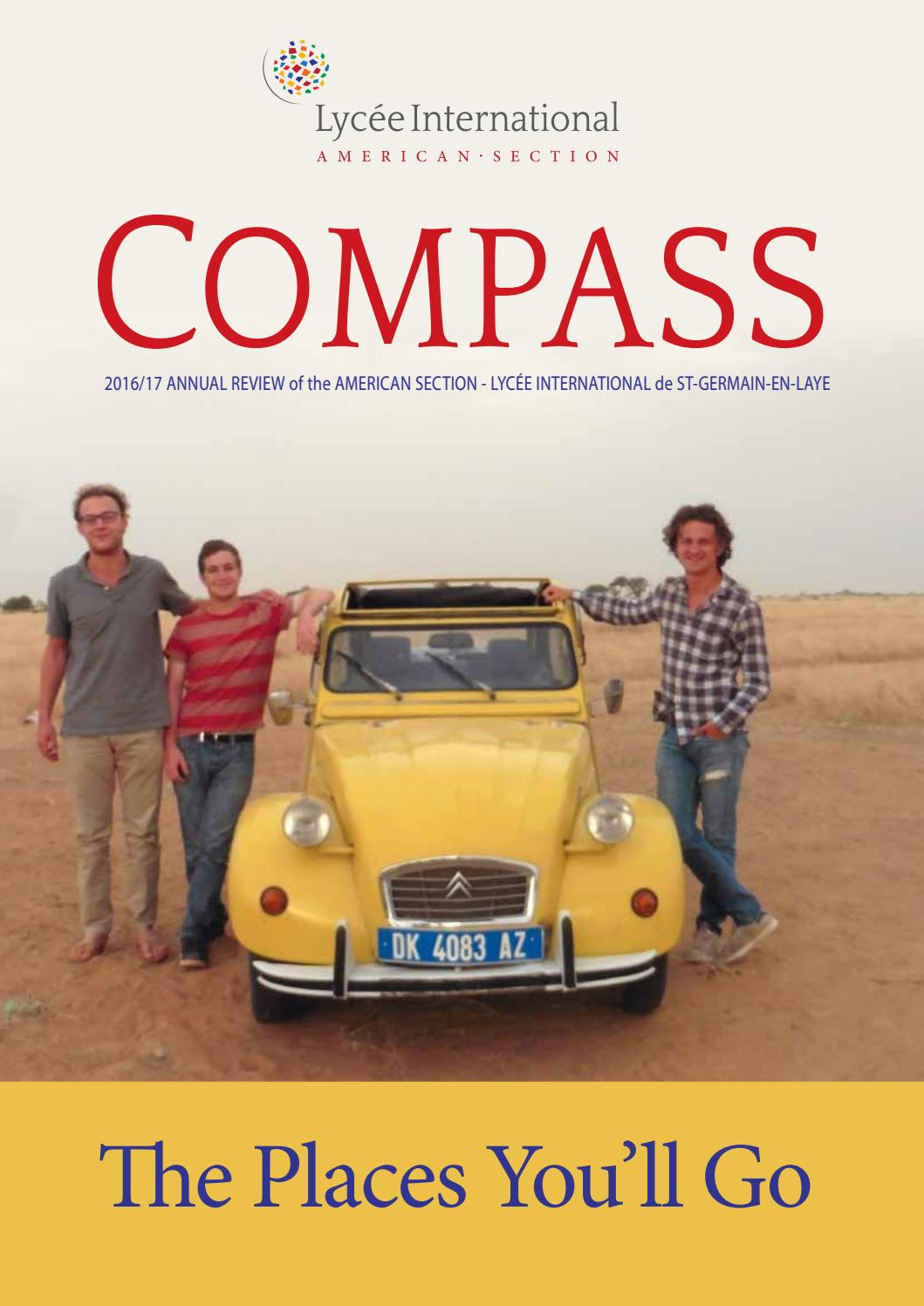 Compass - The Places You'll Go by American Section Lycée