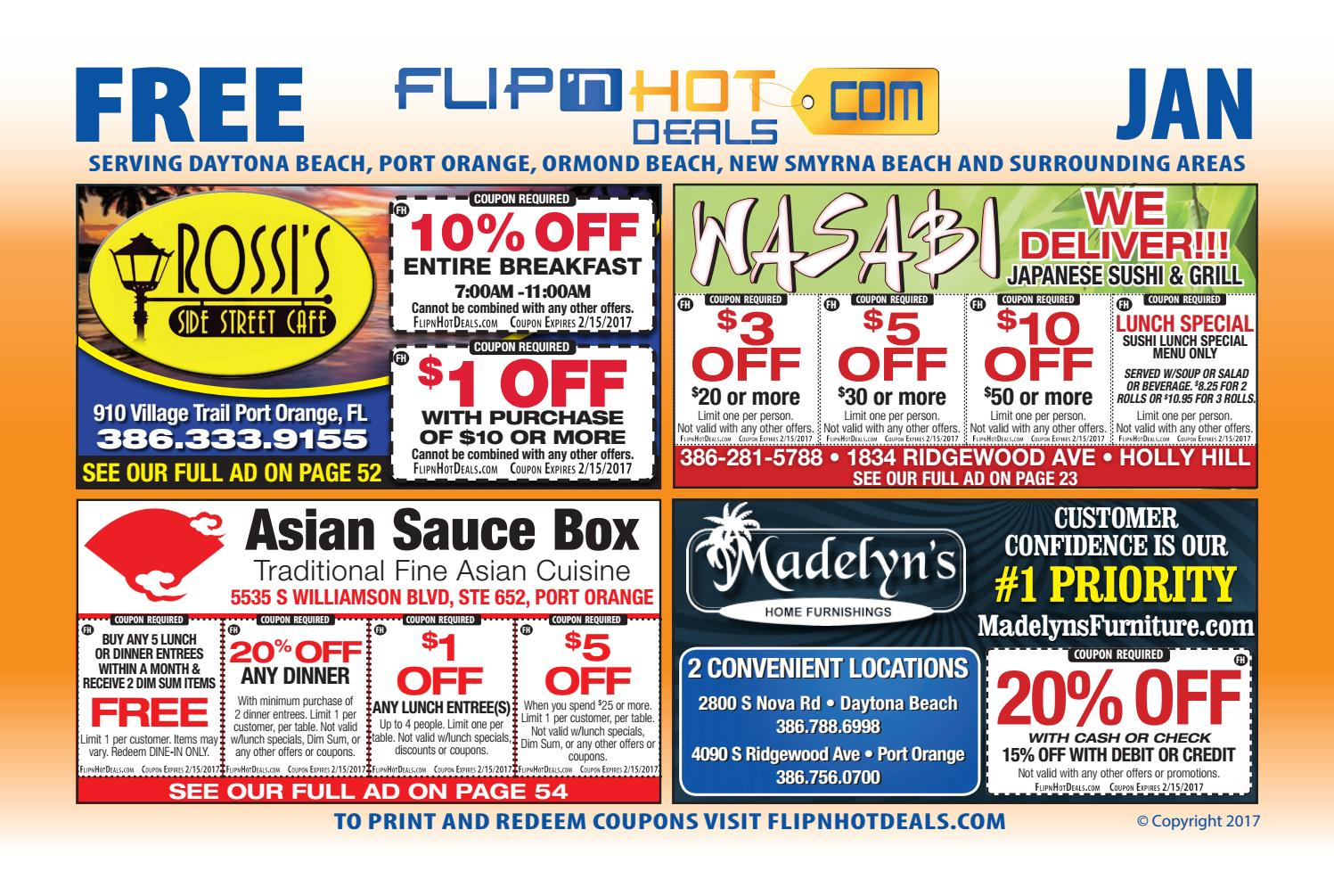 Boston area coupon book