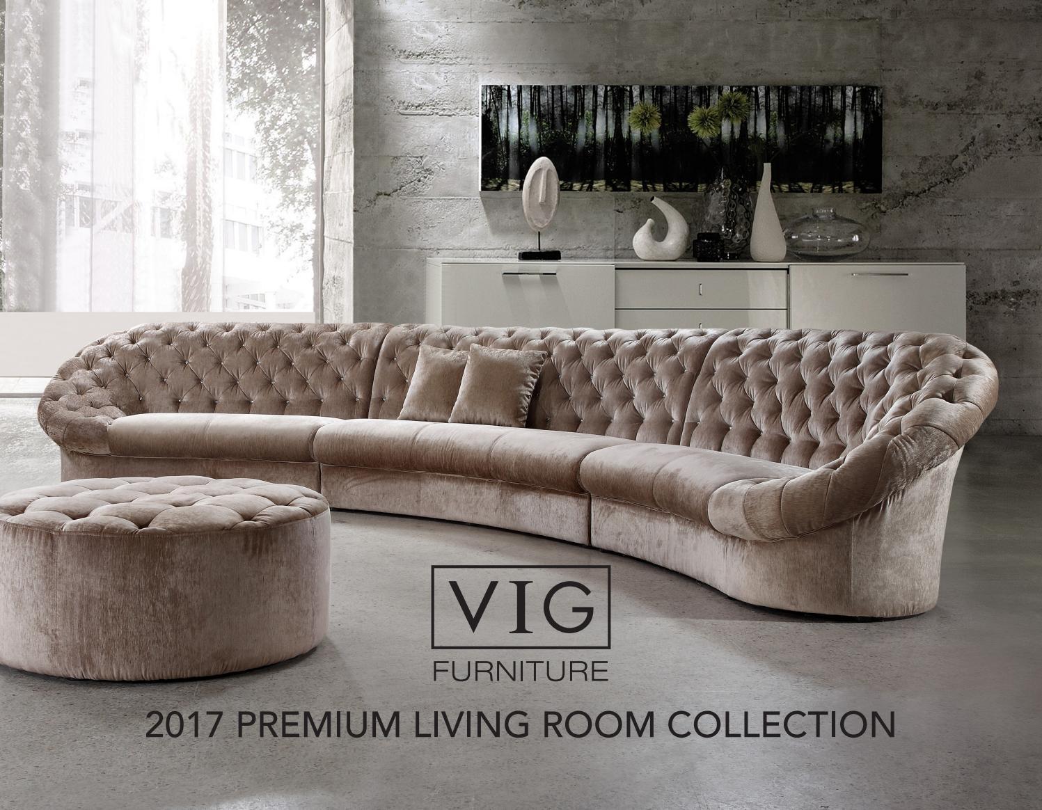 Vig Furniture 2017 Premium Living Room Collection By Vig Furniture