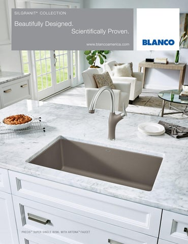 Blanco 2016 silgranit brochure by blanco issuu for Blancoamerica com kitchen sinks