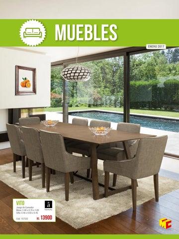 Catálogo de Muebles - Edición 2017 MULTICENTER by Multicenter ...