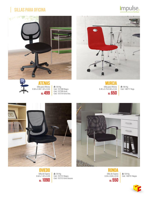 Sillas de oficina murcia simple silla directiva palace de for Oficina empleo murcia