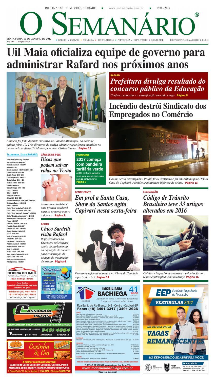 Jornal O Semanário Regional - Edição 1287 - 20 01 2017 by Jornal O  Semanário - issuu c2ed7237f0