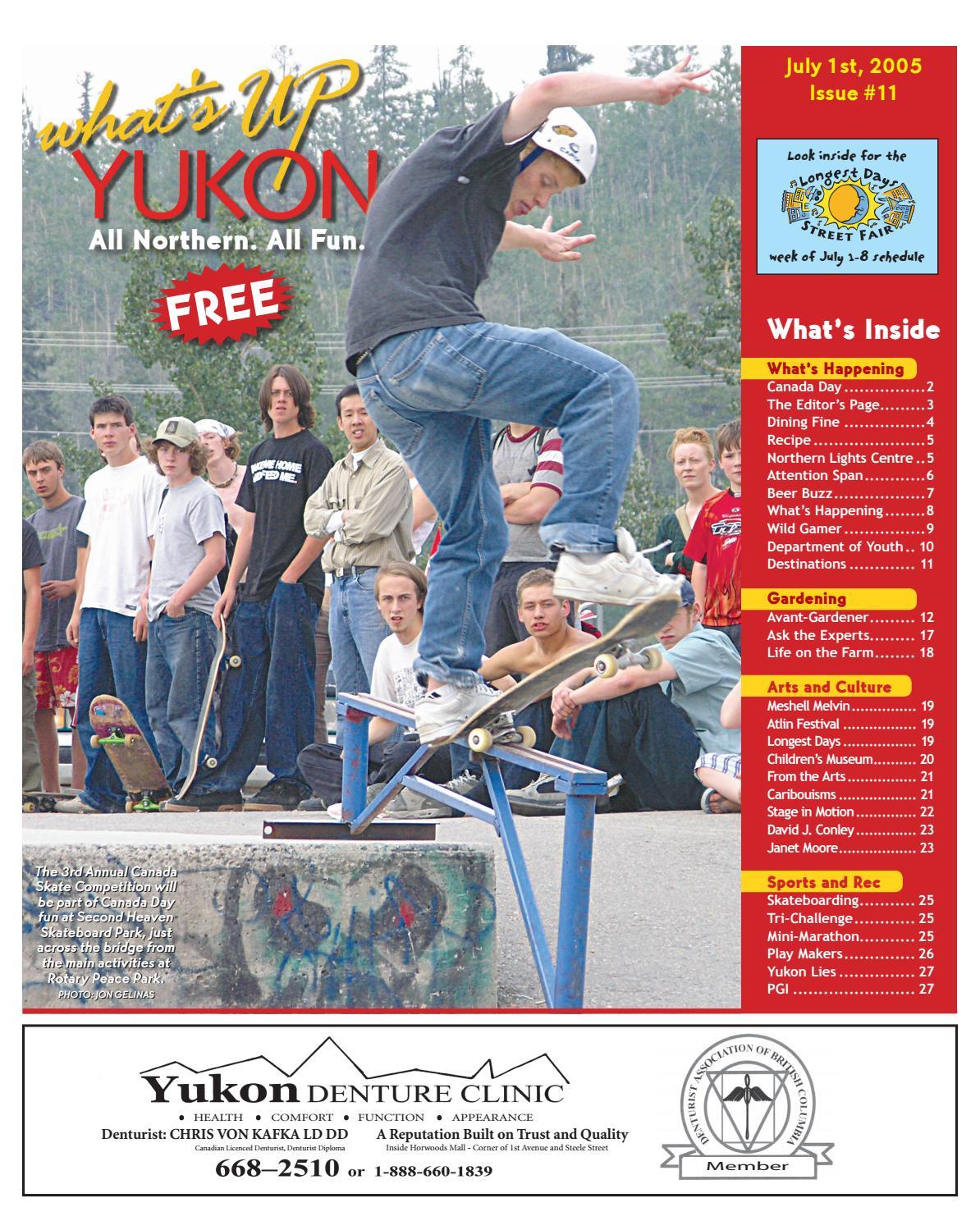 97a4d0ee796 What's Up Yukon, July 1, 2005 by What's Up Yukon - issuu
