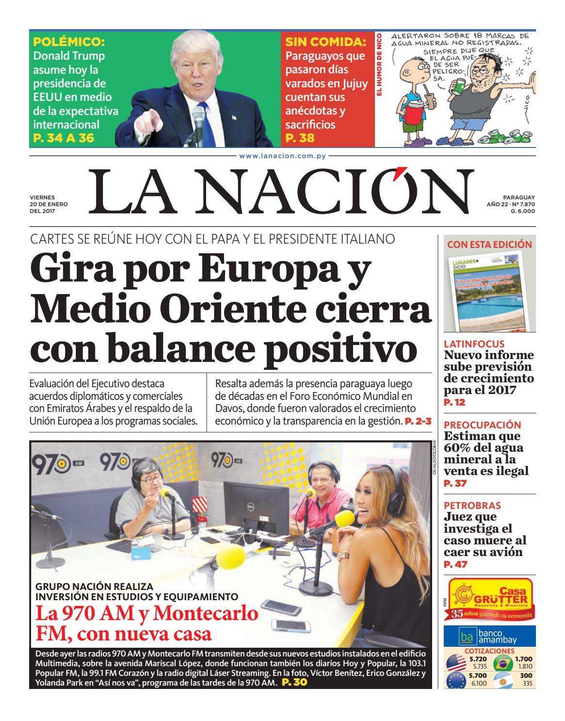 DIARIO LA NACIÓN - EDICIÓN 7.870 by La Nación - Issuu 41fb5dc7f06d
