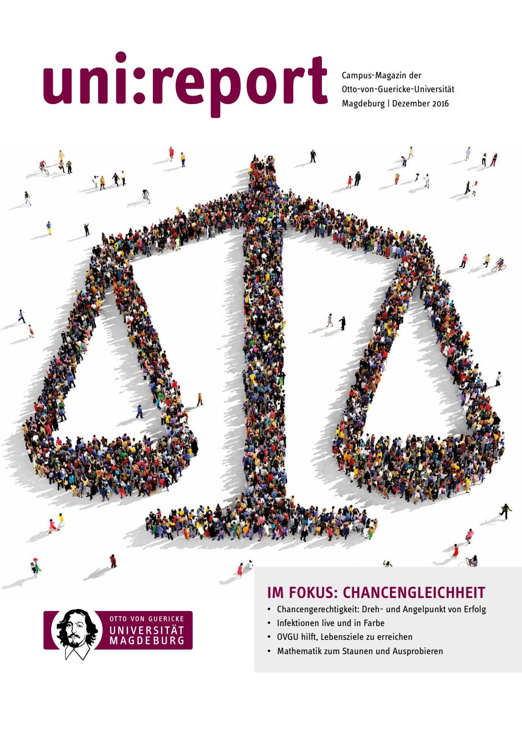 uni:report Dezember 2016 by Otto-von-Guericke-Universität Magdeburg ...