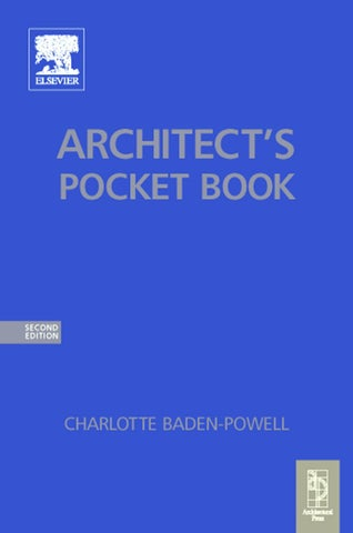 Architects pocket book by Pak Lim Chong - issuu