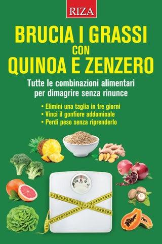 ridurre il grasso verde veloce o mentale