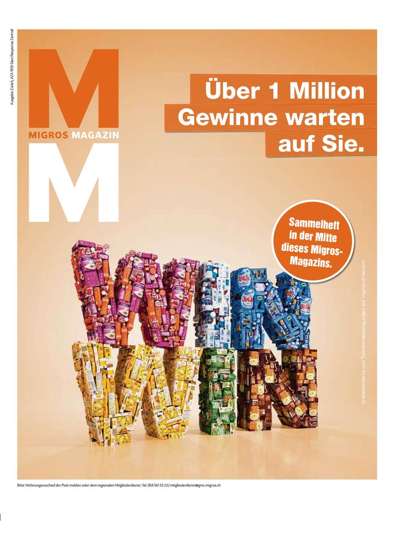 Migros magazin 04 2017 d zh by Migros-Genossenschafts-Bund - issuu