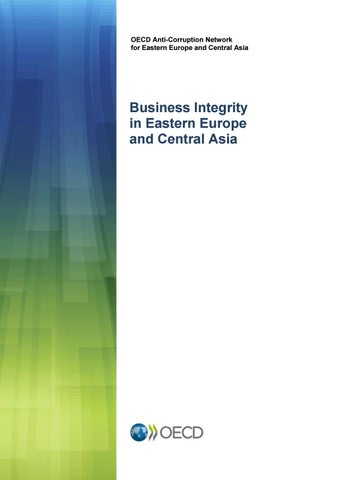 Business integrity in Eastern Europe and Central Asia by United
