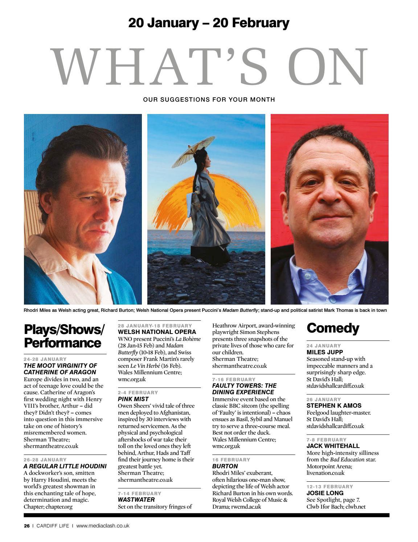 Cardiff Life - Issue 162 by MediaClash - issuu