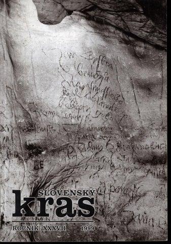 Slovenskykras 1999 by Slovenská Speleologická Spoločnosť - issuu d29064b9b60