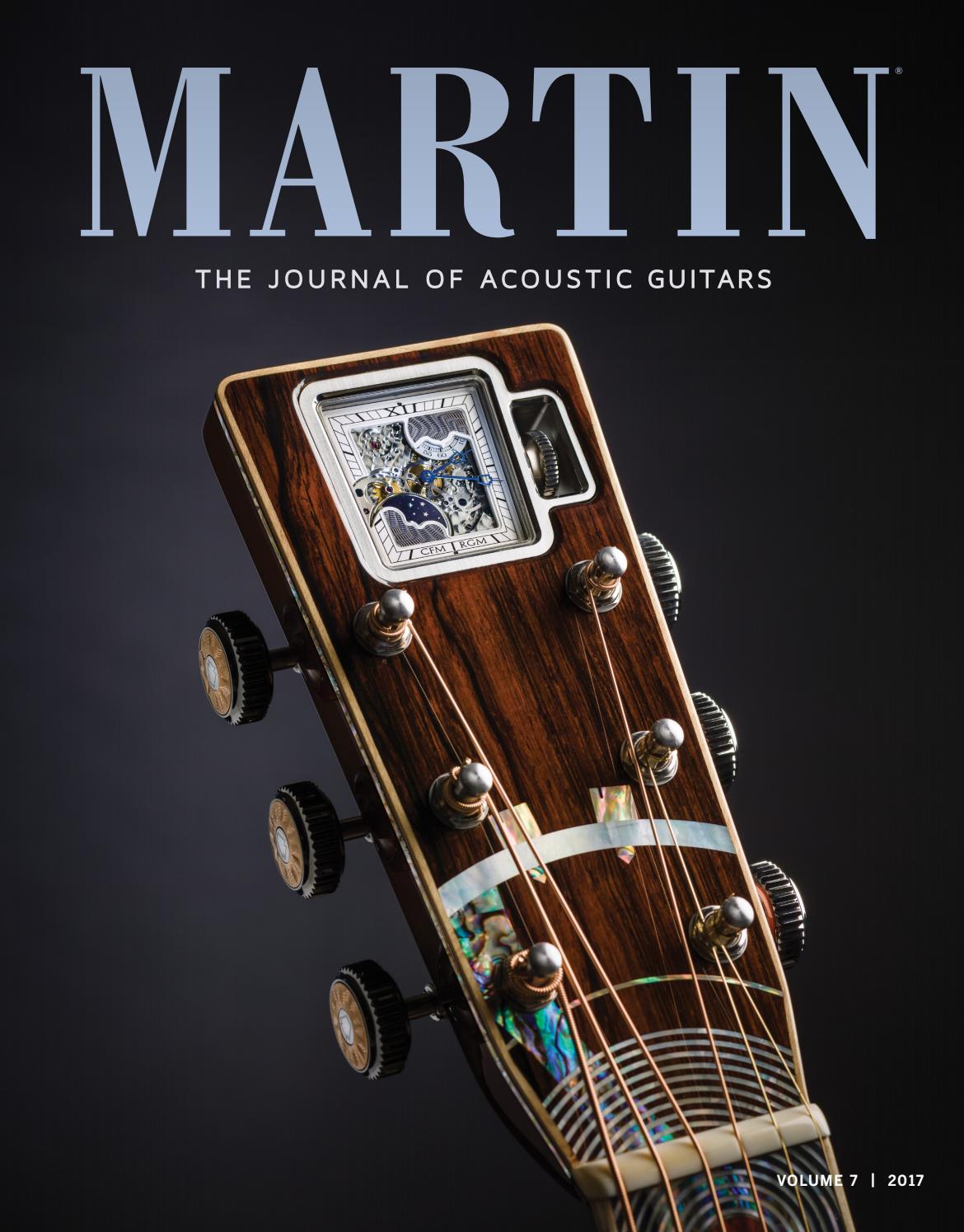 Martin The Journal Of Acoustic Guitars Volume 7 By Martin Guitar