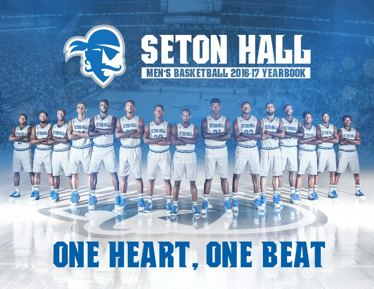 28590a6b715 2016-17 Seton Hall Men's Basketball Yearbook by Seton Hall Pirates - issuu