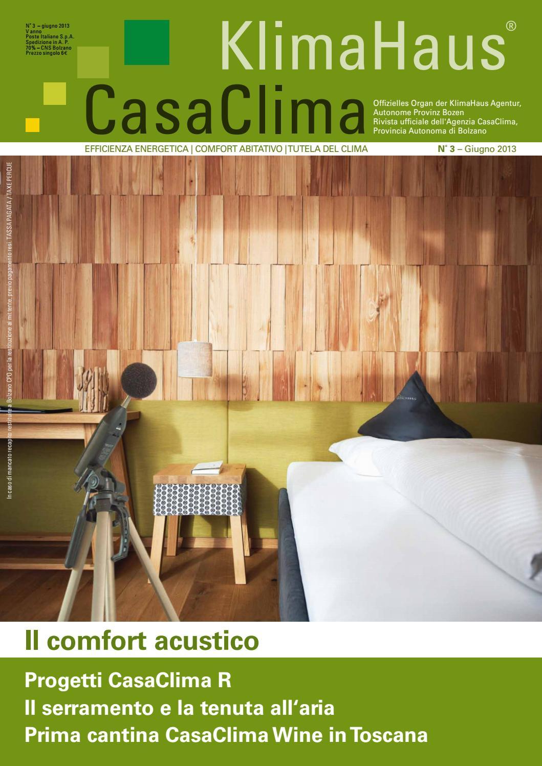 Rivista casaclima 03 2013 by klimahaus agentur agenzia - Casaclima bologna ...