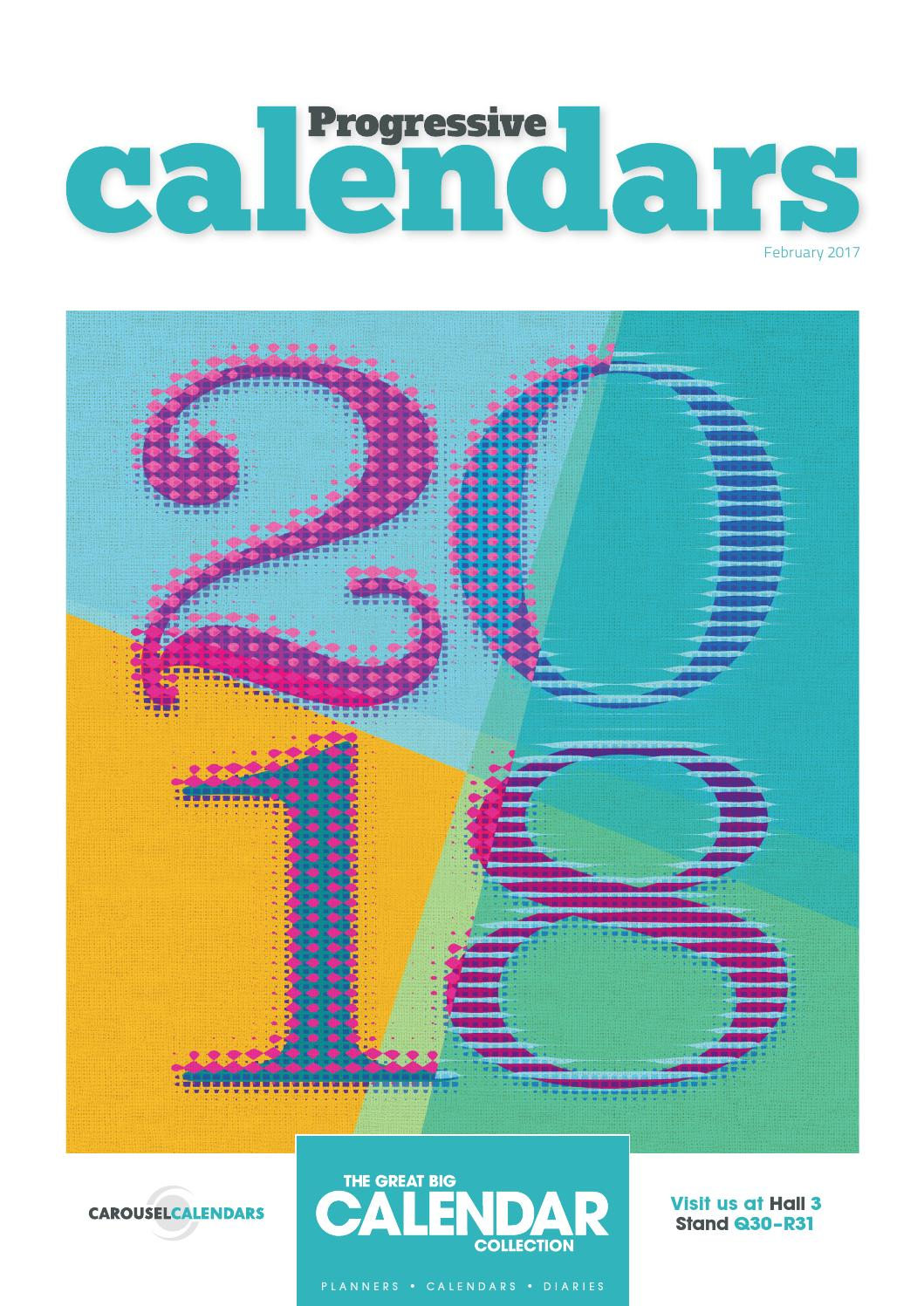 Progressive Calendars February 2017 by Max Publishing - issuu
