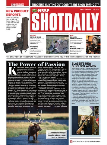 5a47fcd330e SHOT Daily — Day 4 — 2017 SHOT Show by SHOT Business - issuu