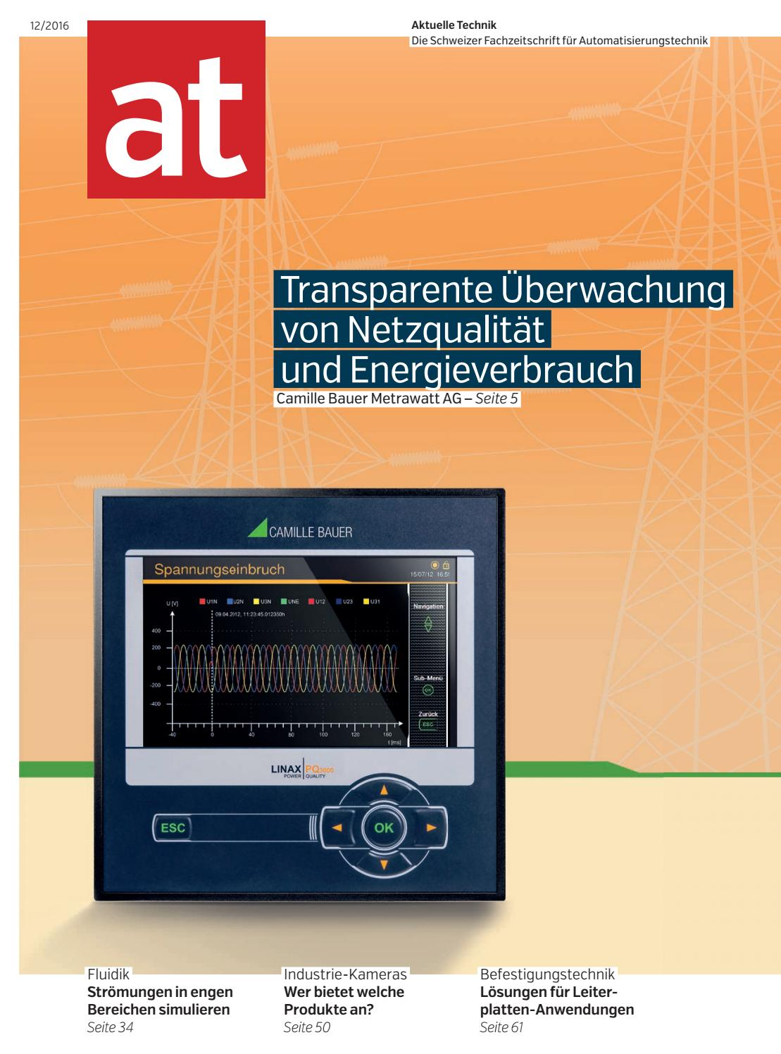 at - Aktuelle Technik 12 2016 by BL Verlag AG - issuu