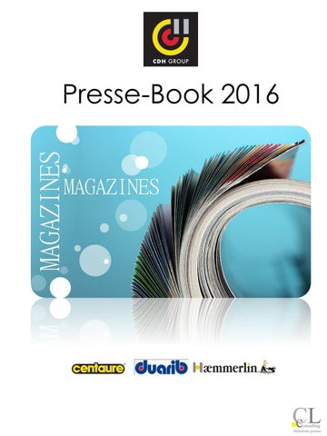 Cdh Group Book 2016 By Fdubas At Cdhgroupcom Issuu