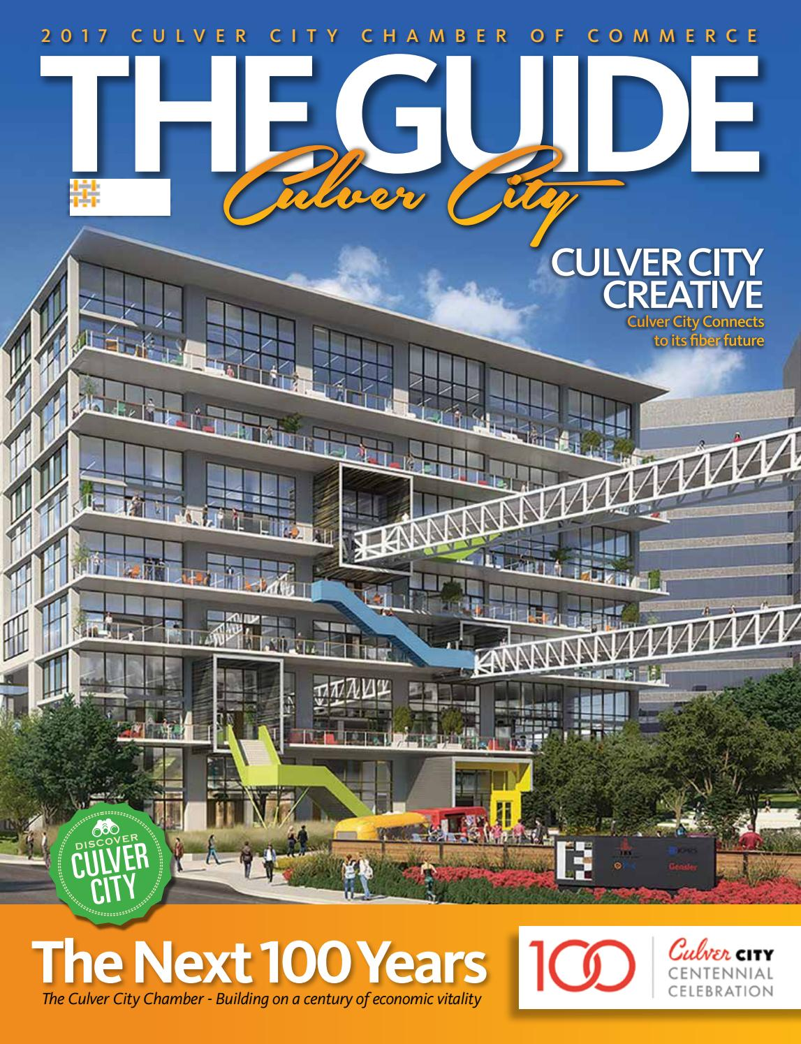 The Guide Culver City 2017 By Creative By Design   Issuu