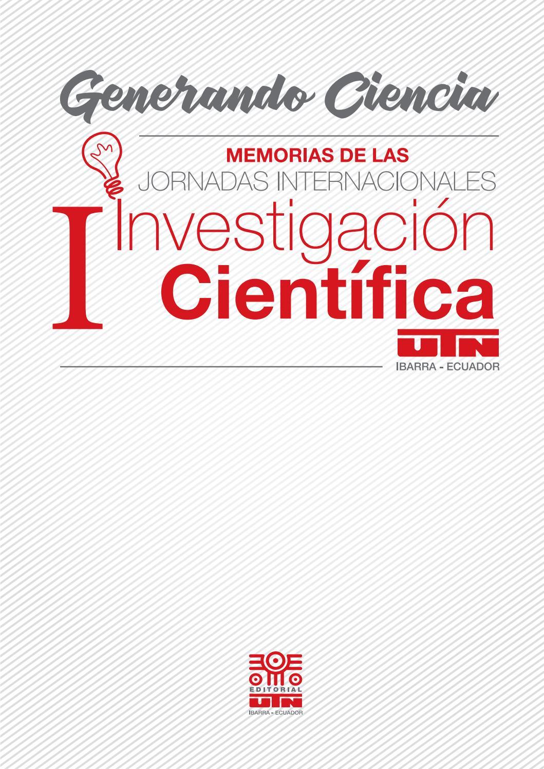 eBook Generando Ciencia by Editorial Universidad Técnica del