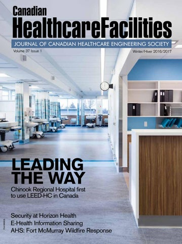 Onetime Fan Of Canadian Healthcare >> Canadian Healthcare Facilities Winter 2016 2017 By Mediaedge Issuu