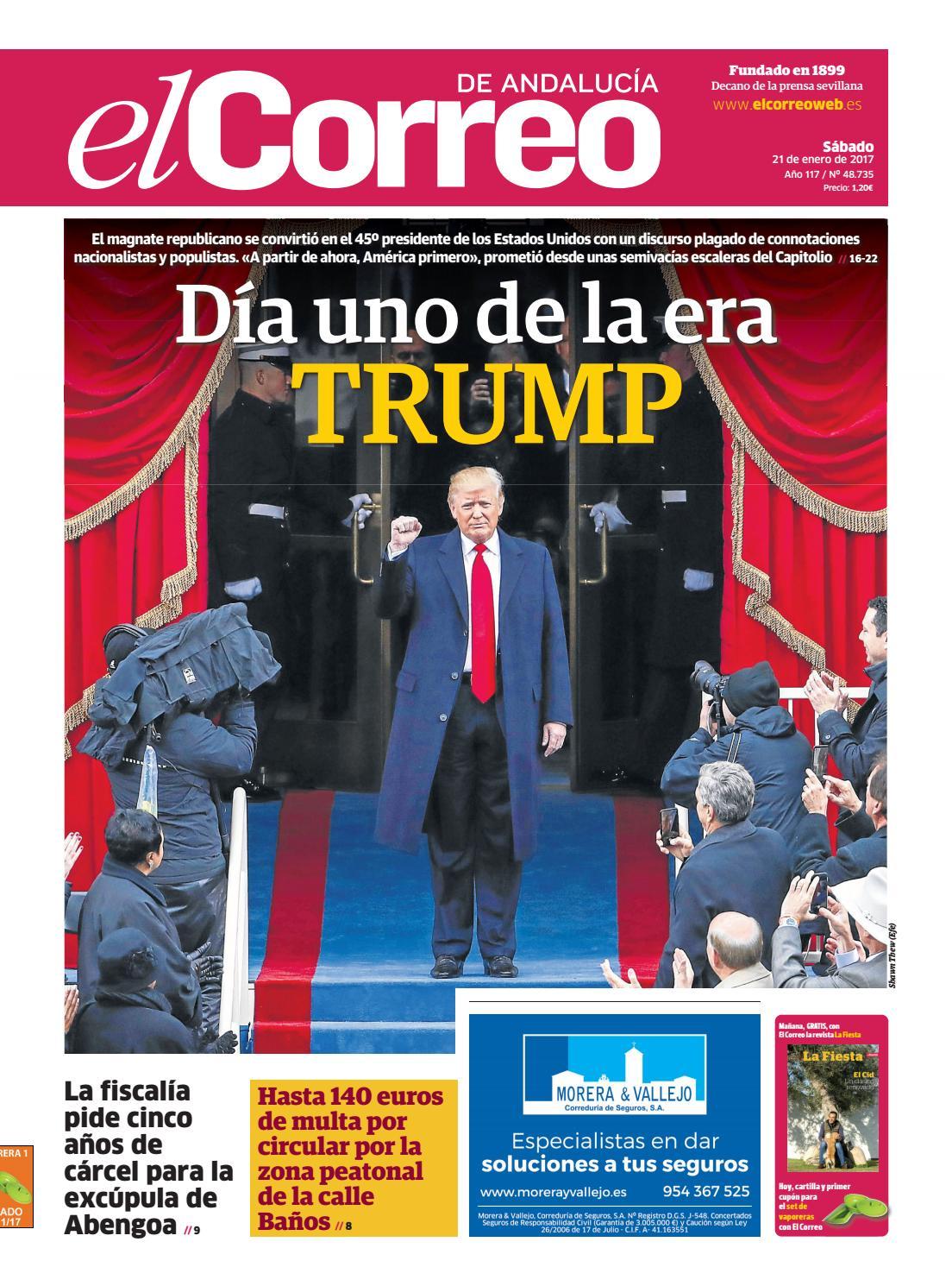 21 01 2017 El Correo de Andalucía by EL CORREO DE ANDALUCÍA S.L. - issuu