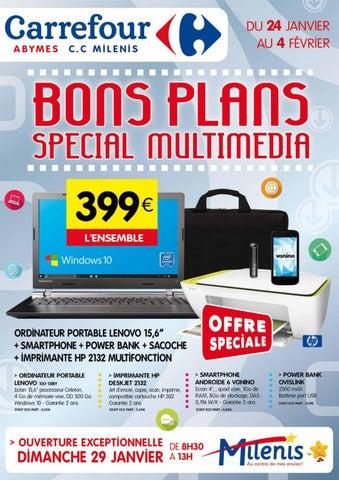 Carrefour Milenis Bons Plan Special Multimedia Du 24