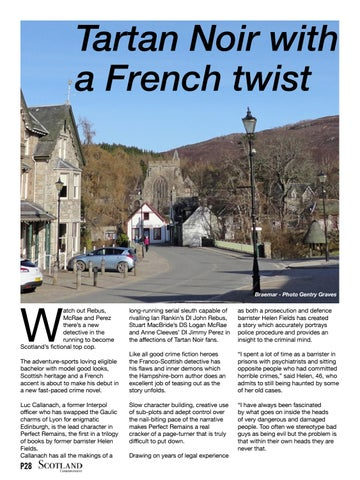 Page 28 of Tartan Noir with a French twist