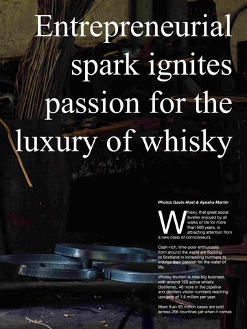 Page 67 of Entrepreneurial spark ignites passion for the luxury of whisky