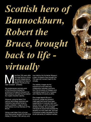 Page 76 of Scottish hero of Bannockburn, Robert the Bruce, brought back to life - virtually
