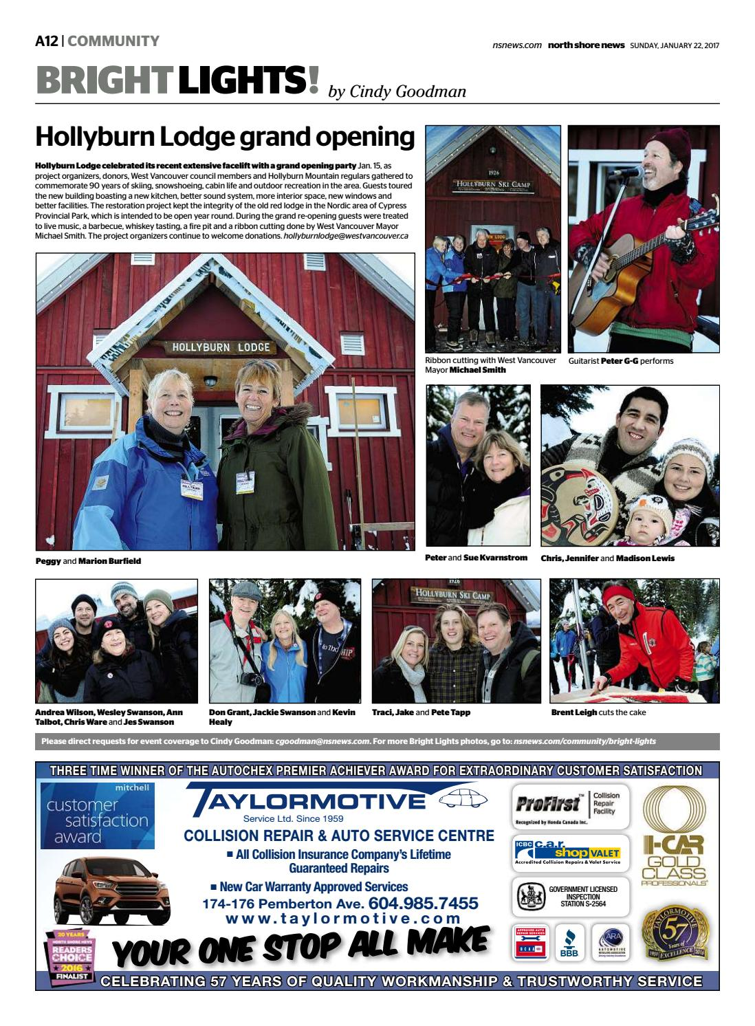 Jackie Swanson Images north shore news january 22 2017nsn features - issuu