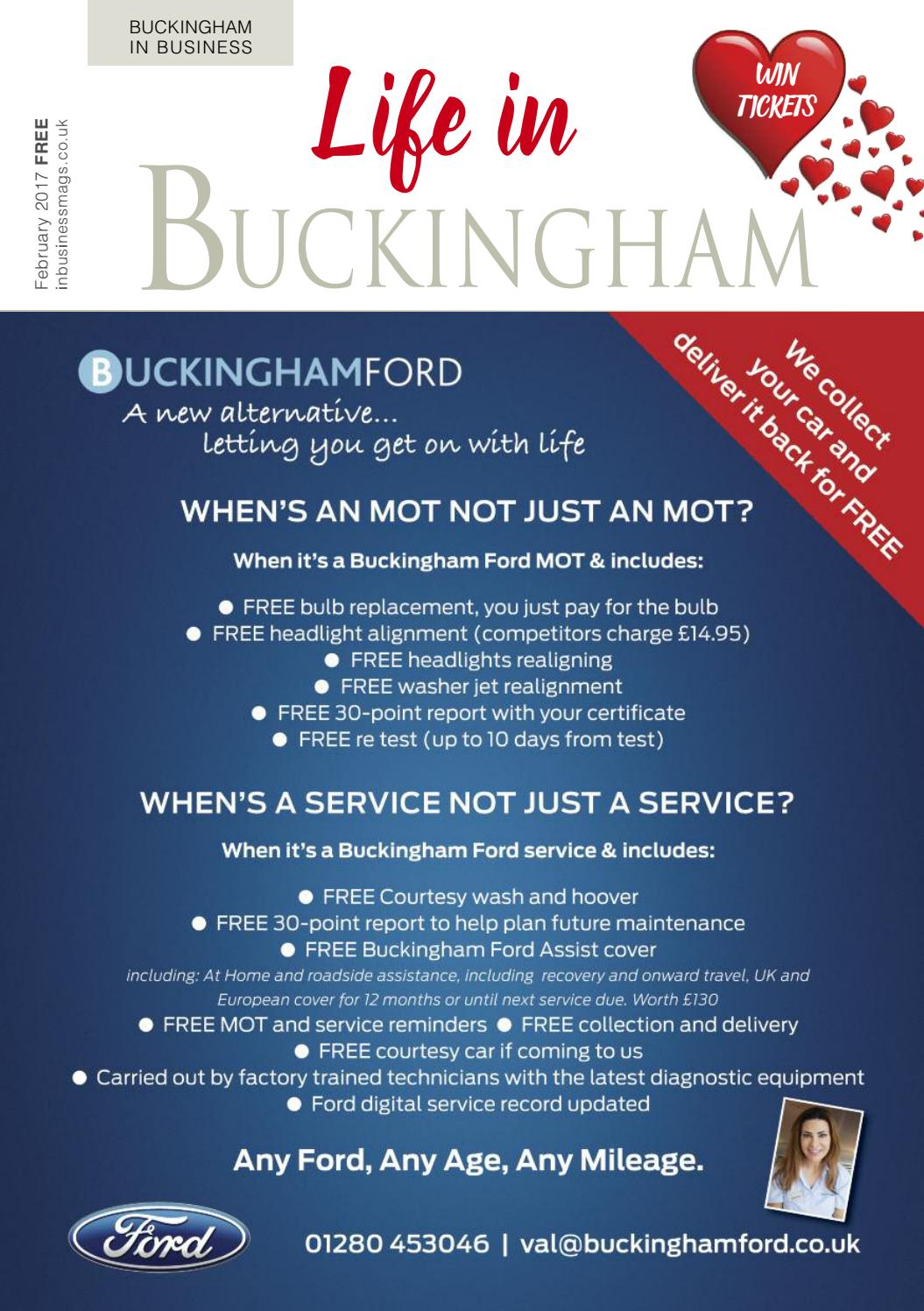 Life in Buckingham February 2017 issue by Best Area Magazines Ltd ...