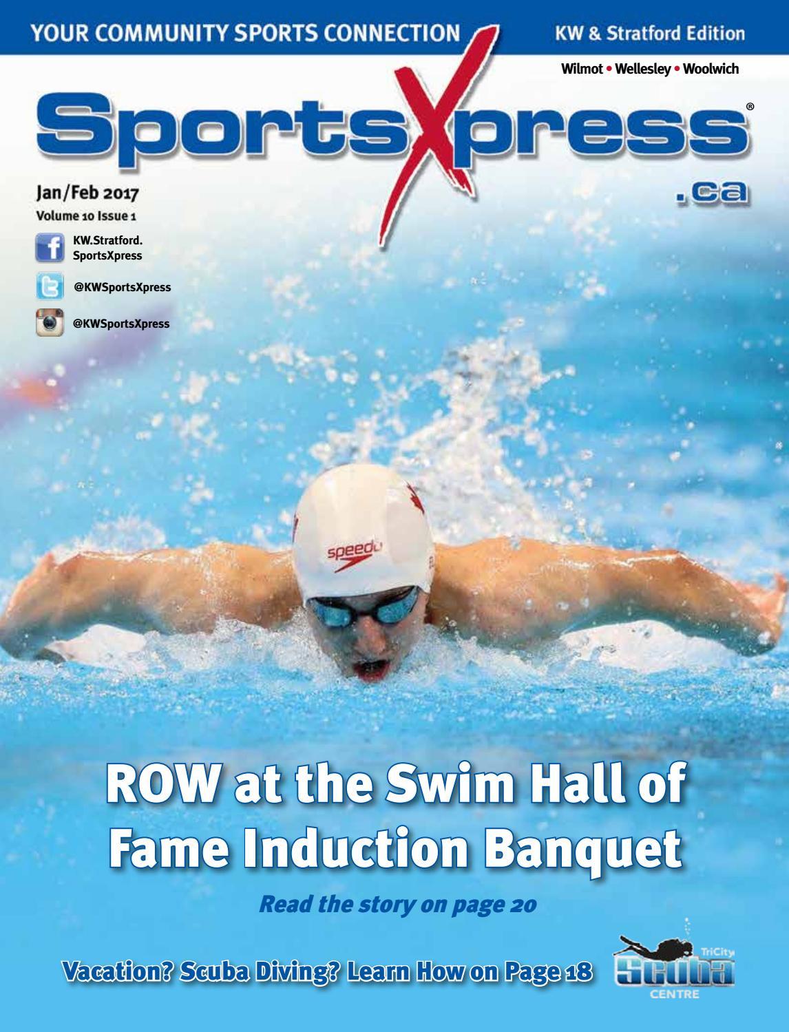 SportsXpress KW & Stratford Jan/Feb 2017 by SportsXpress - issuu