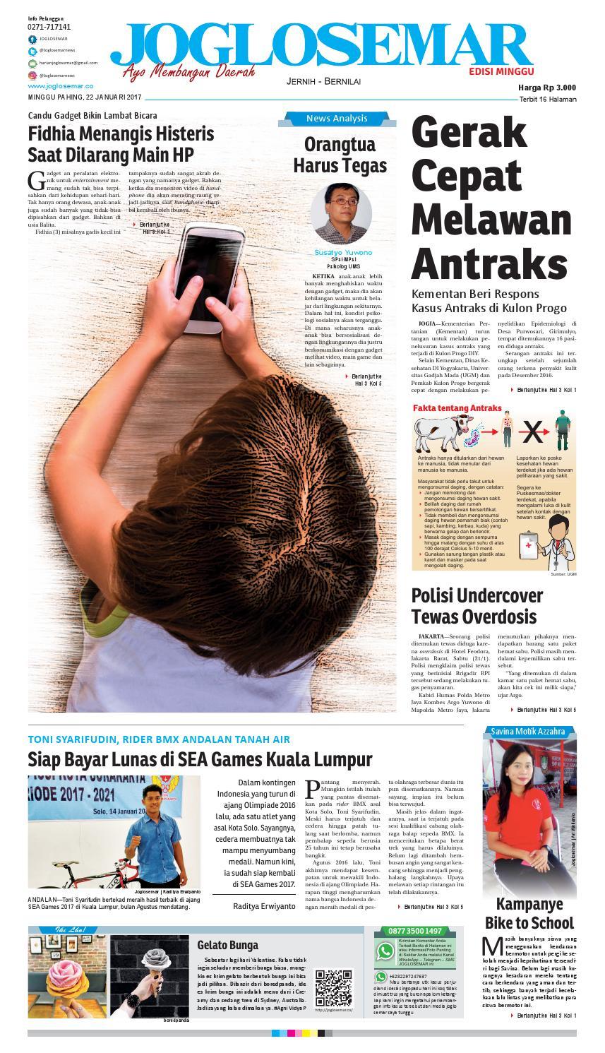 E paper 22 januari 2017 by PT Joglosemar Prima Media - issuu 376718e3eb