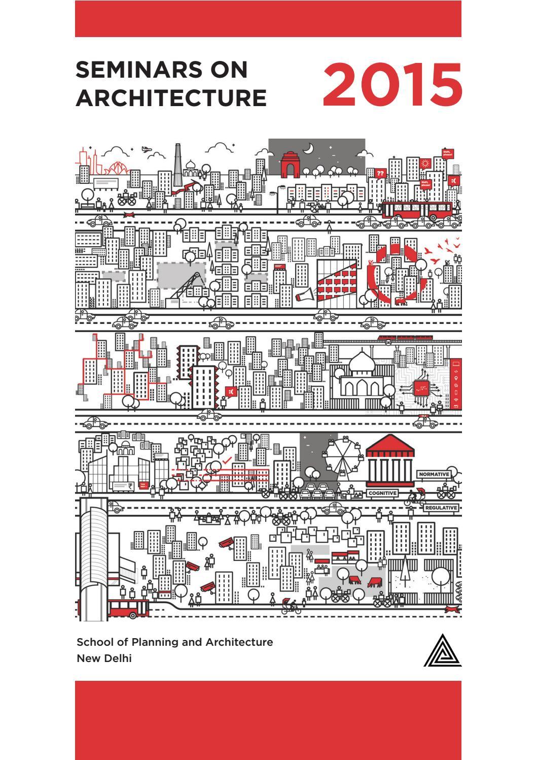 F5 Urbanity: Seminars on Architecture by Nishita Mohta - issuu