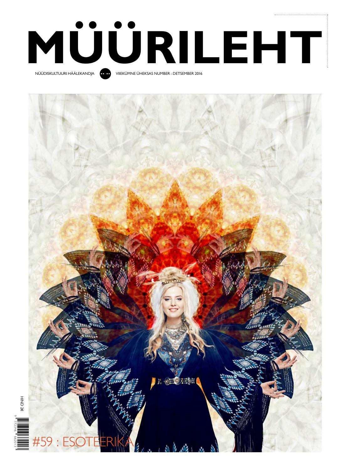 4668a566171 MÜÜRILEHT 59 : DETSEMBER 2016 by Müürileht - issuu