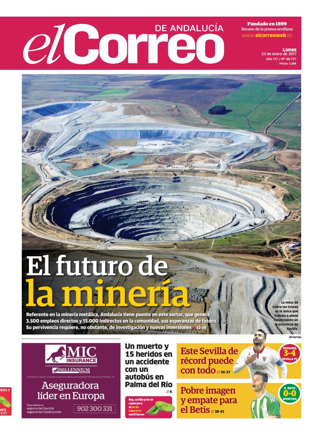 23 01 2017 El Correo De Andaluc A By El Correo De Andaluc A S L  # Muebles Rogelio Nerja