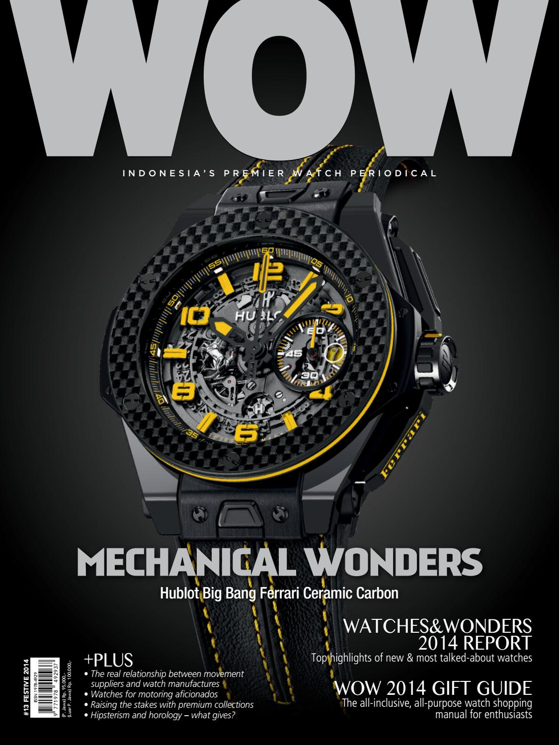 World Of Watches 13 Festive Issue 2014 By Arvada