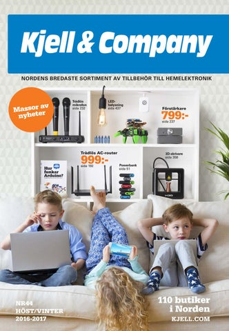 Kjell   Company Katalog 44 Sverige by Kjell   Company - issuu 5ab2bd0a8bff3