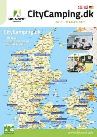 massage vestegnen kort over flensborg bymidte